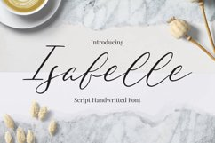 Isabelle Font Product Image 1