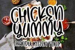 Chicken Yummy - Handwritten Font Product Image 1