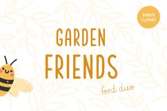 Garden friends   Font duo Product Image 1