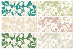 Vector banner with gold flowers Product Image 2