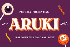 Aruki Font Product Image 1