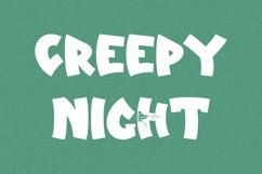 Web Font Silent House - Halloween Display Font Product Image 2