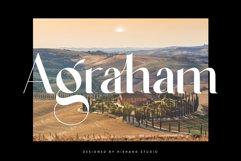 Agraham Serif Font Product Image 1
