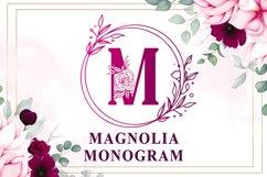 Magnolia Monogram Product Image 1