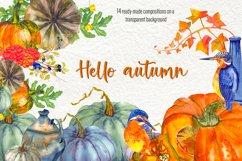 Fall Clip Art, Fall Graphics Set, Thanksgiving Clip Art Product Image 1