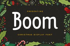 Boom Font Product Image 1