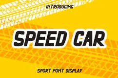 Speed Car Product Image 1