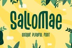 Sallomae - Playful Font Product Image 1