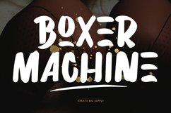Boxer Machine Brush Font Product Image 1