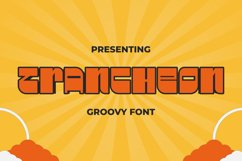 TRANcheon Font Product Image 1