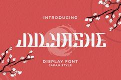 Julyashe Font Product Image 1