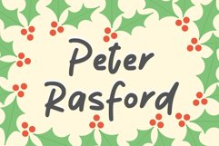 Peter Rasford Product Image 1