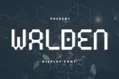 Walden Font Product Image 1