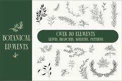 80 Botanical elements svg Product Image 1