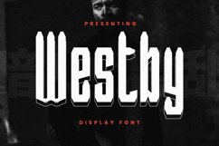 Westby Font Product Image 1