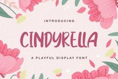 Cindyrella - Playful Display Font Product Image 1