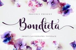 Bondieta script Product Image 1
