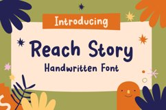 Reach Story - Handwritten Font Product Image 1