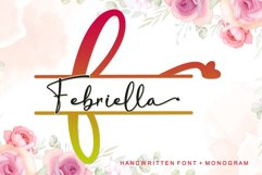 Febriella - Monogram Product Image 1