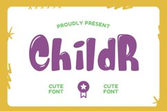 Childr Font Product Image 1
