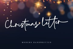 Christmas letter Product Image 1