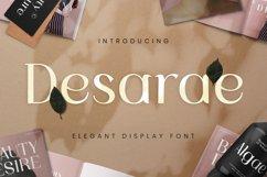 Desarae Font Product Image 1