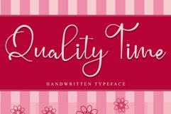 Quality Time Product Image 1