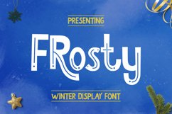 Frosty Font Product Image 1