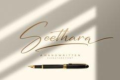 Seethara - Signature Font Product Image 1