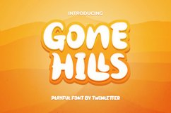 Gone Hills Product Image 1
