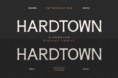 Hardtown a Vintage Sans Serif Display Font Family Product Image 1