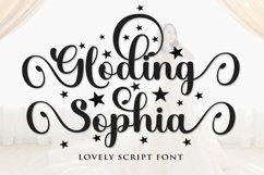 Gloding Sophia Script Product Image 1