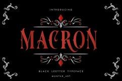Macron   Vintorian Font Product Image 1