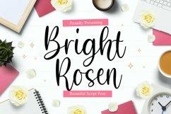 BrightRosen Font Product Image 1
