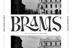 BRAMS - Display Serif Product Image 1
