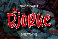 BjoRke Font Product Image 1