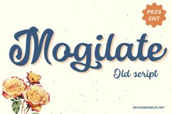 Mogilate Font Product Image 1