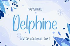 Delphine Font Product Image 1