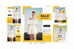 post template color yellow Product Image 1