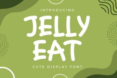 Jelly Eat - Cute Display Font Product Image 1