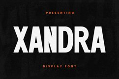 Xandra Font Product Image 1