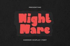 NightMare Font Product Image 1