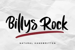 Billys Rock Product Image 1