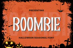 Boombie Font Product Image 1