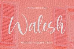 Walesh Font Product Image 1