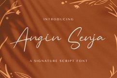 Angin Senja - Handwritten Font Product Image 1