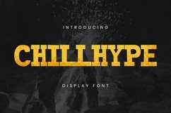 Chillhype Font Product Image 1