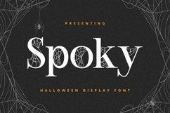 SPOKY Font Product Image 1
