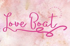 Love Boat Product Image 1