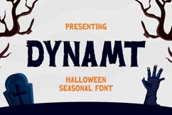 Dynamt Font Product Image 1